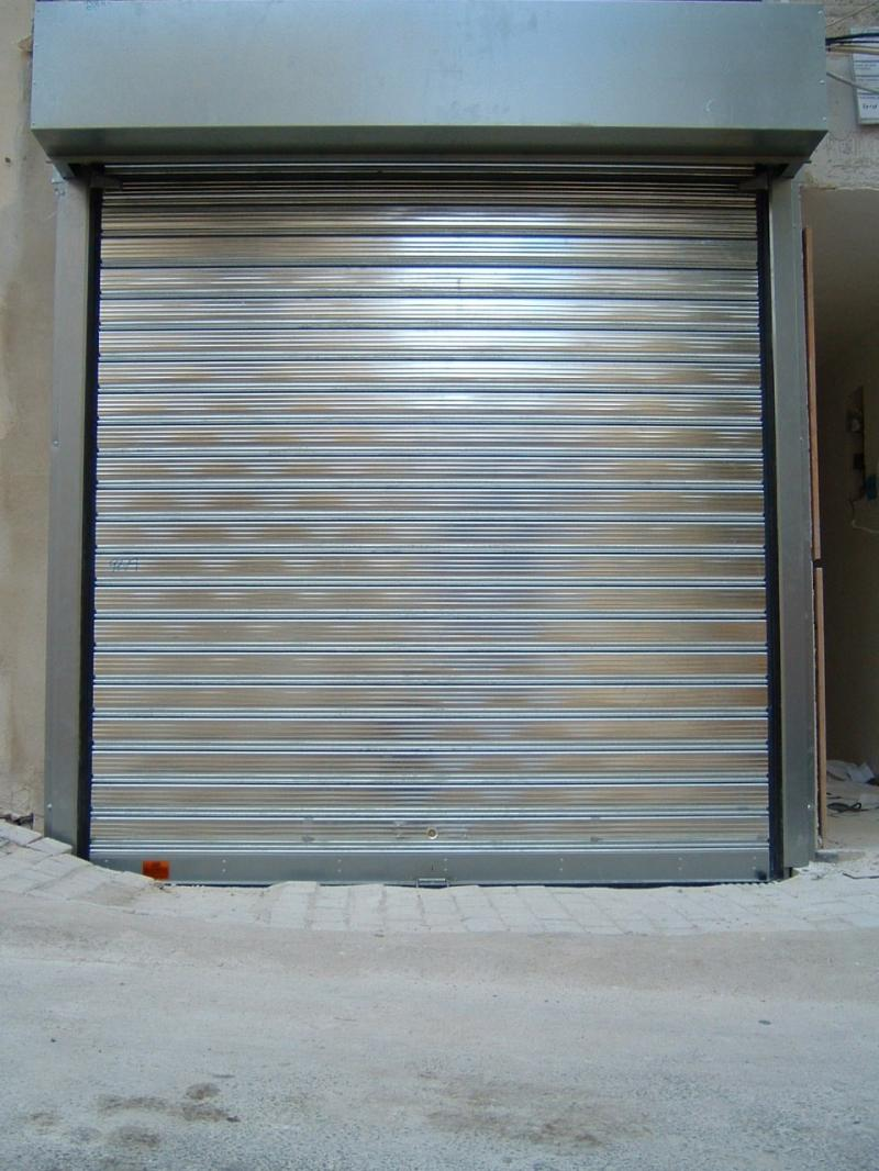 Galvanized Shutter including cover box